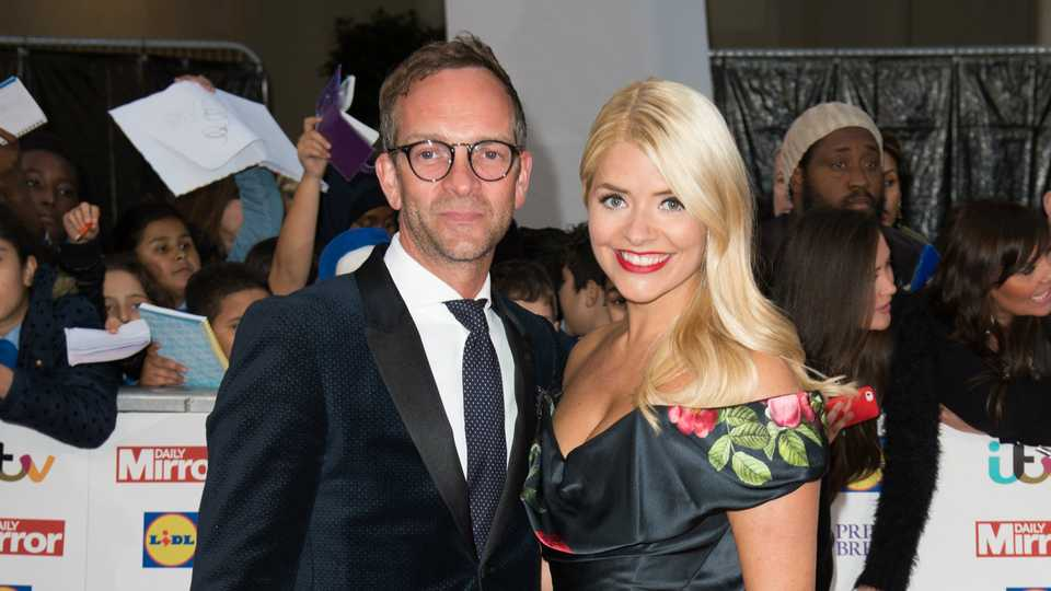 Holly Willoughby shares intimate photo with husband Dan Baldwin